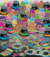 Neon Glow Super New Year's Eve Assortment for 100 people (1 Kit/Case)