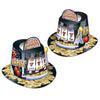 Jackpot Hi-Hat, party supplies, decorations, The Beistle Company, New Years, Bulk, Holiday Party Supplies, Discount New Years Eve 2017 Party Supplies, 2017 New Year's Eve Stuff to Wear, New Year's Eve Hats and Tiaras