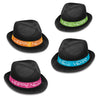 Neon Glow Chairman Hats, party supplies, decorations, The Beistle Company, New Years, Bulk, Holiday Party Supplies, Discount New Years Eve 2017 Party Supplies, 2017 New Year's Eve Stuff to Wear, New Year's Eve Hats and Tiaras