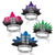 New Year Resolution New Year's Eve Tiaras (50ct)