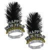 Silver & Gold Cheers To The NY Tiara (Pack of 50)