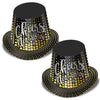 Silver & Gold Cheers To The NY Hi-Hat (Pack of 25)