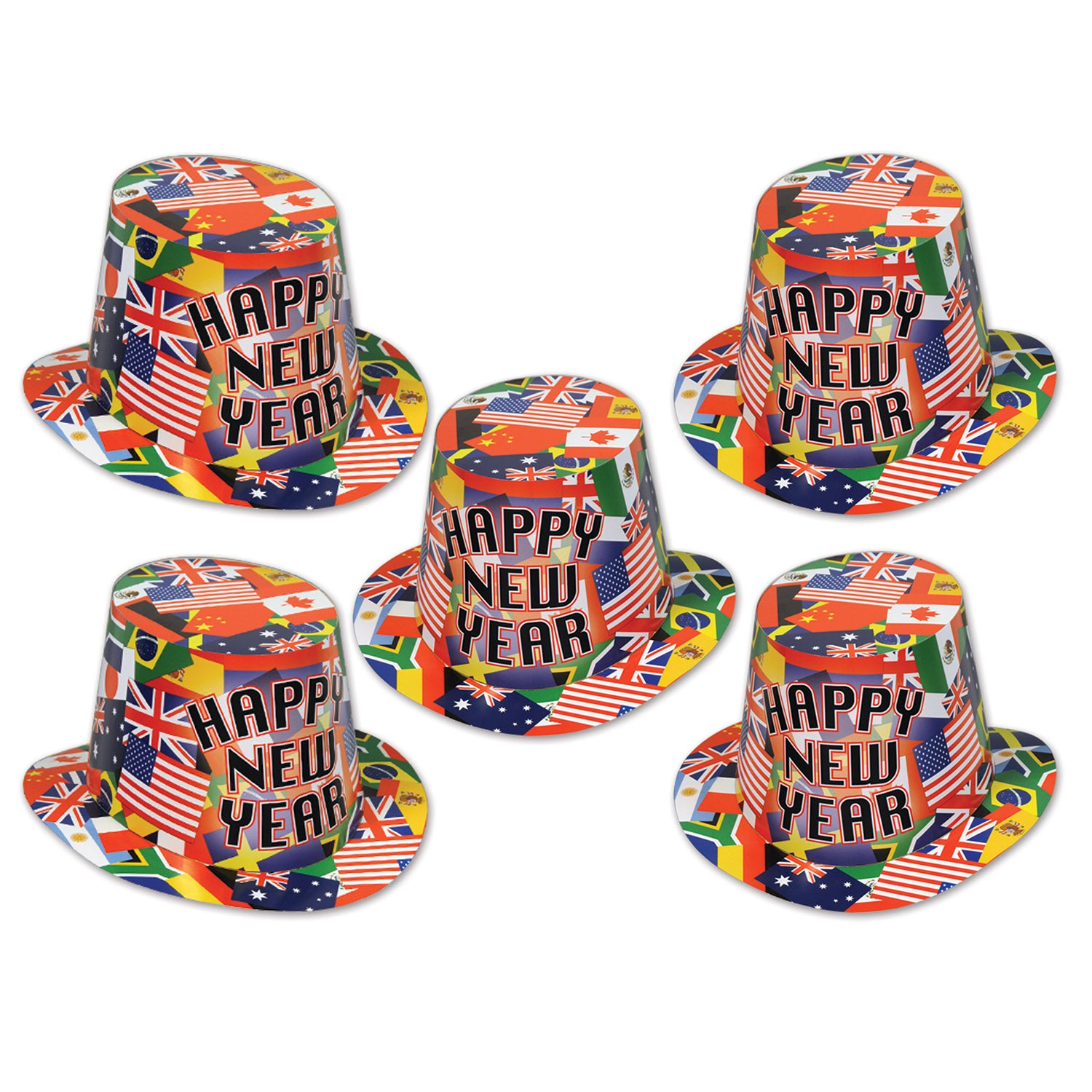7ec4064a34e 25 Case) Beistle International New Years Party Hi-Hat - Bulk Party ...