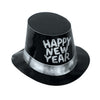 Black Hi-Hat with Gltrd Happy New Year