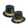Gold Legacy Topper Hat - black & gold
