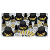 The Gold Top Hat New Year's Eve Party Kit for 50 People