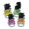 Neon Swing Tiaras New Year's Eve Party Kit colors