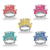 Happy New Year Tiaras - assorted colors