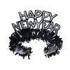 Black & Silver Happy New Year Regal Tiara