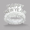 White & Silver Happy New Year Regal Tiara