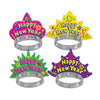 Color-Brite New Year's Eve Tiaras