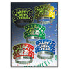 Midnight Glow New Year's Eve Tiaras, assorted colors