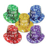 Gem-Star New Years Party Hi-Hats - assorted colors