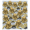 Gem-Star Deluxe Gold New Years Eve Party Kit for 100 People