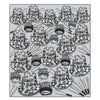 Gem-Star Deluxe Silver New Years Eve Party Kit for 100 People