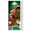 Turkey Restroom Door Cover - Thanksgiving Signs & Banners