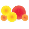 Beistle Accordion Paper Fans (12 packs) - Thanksgiving Party Decorations, Thanksgiving Party Supplies