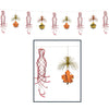 Thanksgiving Decorations: Leaf Shimmer Garland