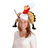 Plush Chef Turkey Hat - Thanksgiving Party Accessories