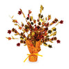 Fall Leaves Gleam 'N Burst Centerpiece