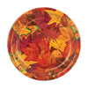 Fall Leaf Plates, party supplies, decorations, The Beistle Company, Fall/Thanksgiving, Bulk, Holiday Party Supplies, Thanksgiving Party Supplies, Thanksgiving Party Decorations, Thanksgiving Tableware