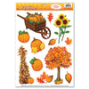 Thanksgiving Party Supplies - Fall Clings
