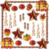 Fall Reflections Decorating Kit - 30 Pcs