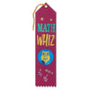 Math Whiz Award Ribbon