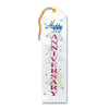 Happy Anniversary Award Ribbon (Pack of 6)