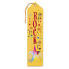 Rock Star Award Ribbon (Pack of 6)