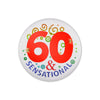 60 & Sensational Satin Button