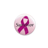 Survivor Satin Button, party supplies, decorations, The Beistle Company, Pink Ribbon, Bulk, Pink Ribbon Theme