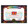 21 & Terrific Certificate (Pack of 6)