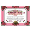 Mother Of The Year Certificate (Pack of 6)