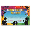 Congratulations Graduate Certificate (Pack of 6)