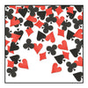 Card Suit Confetti, party supplies, decorations, The Beistle Company, Casino, Bulk, Casino Party Supplies, Casino Party Decorations