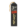Best Costume 3rd Place Award Ribbon (Pack of 6)