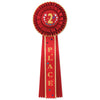 2nd Place Deluxe Rosette