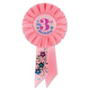 My 3rd Birthday Rosette