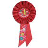 My 4th Birthday Rosette