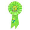 My 5th Birthday Rosette, party supplies, decorations, The Beistle Company, Birthday-AgeSpecific, Bulk, Birthday Party Supplies, Birthday Party Hats And Stuff to Wear