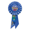 Blue It's My Birthday Rosette