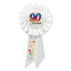 90 & Incredible Rosette, party supplies, decorations, The Beistle Company, Birthday-AgeSpecific, Bulk, Birthday Party Supplies, Birthday Party Hats And Stuff to Wear