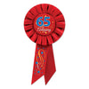 65 & Amazing Rosette, party supplies, decorations, The Beistle Company, Birthday-AgeSpecific, Bulk, Birthday Party Supplies, Birthday Party Hats And Stuff to Wear