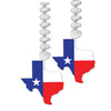 Beistle Texas Danglers (12 packs) - Western Party Decorations, Western Party Theme