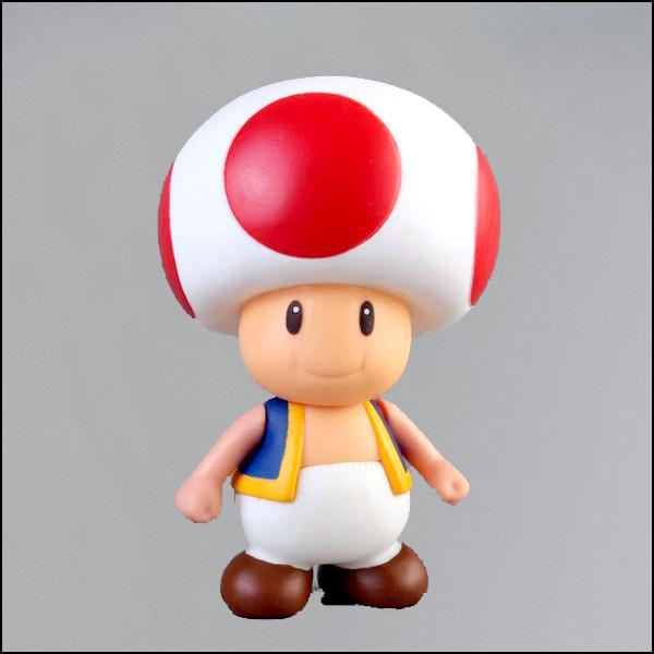 Super Mario Bros Mushroom  Figurine SMFG229 - Arnaud and Co