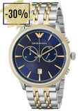 Armani AR1847 Men's Navy Blue / Silver Analog WatchArmani AR1847 Men's Analogue Navy / Silver Watch - Arnaud and Co