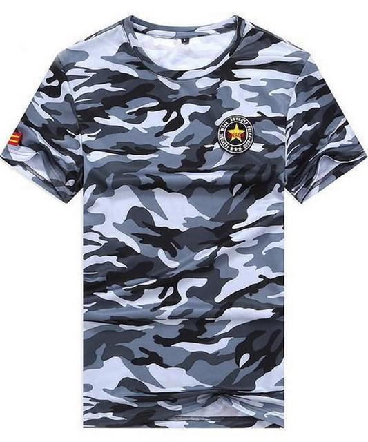 Tee-shirt Military Camouflage . TH08 - Arnaud and Co