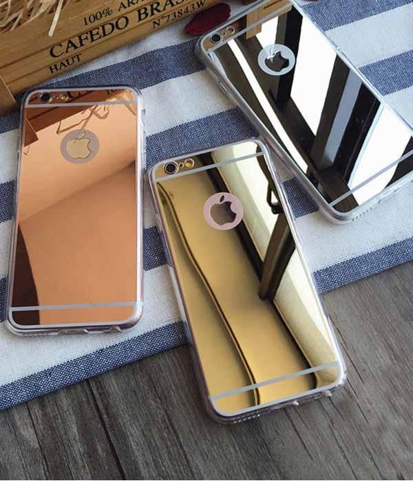 Mirror Soft Protection Case for iPhone ... More Colors Available ... CS21