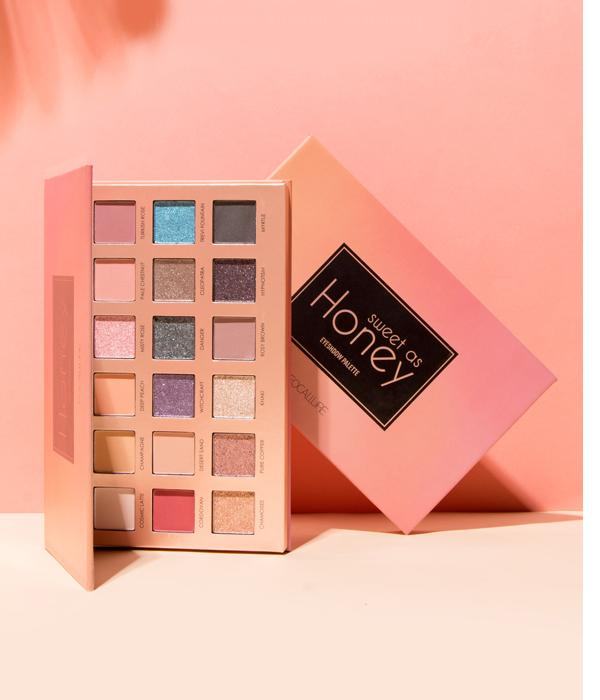 "New Palette de Fards à paupières ""SWEET AS HONEY"""